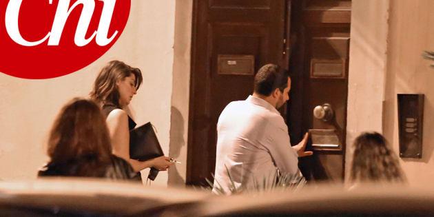 Nessuna crisi Salvini Isoardi: la coppia va a convivere a du