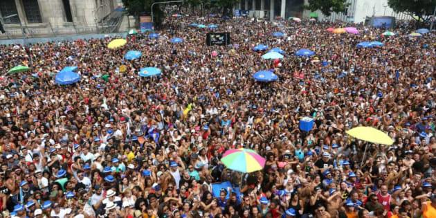 Bloco das Poderosas no Carnaval do Rio de Janeiro