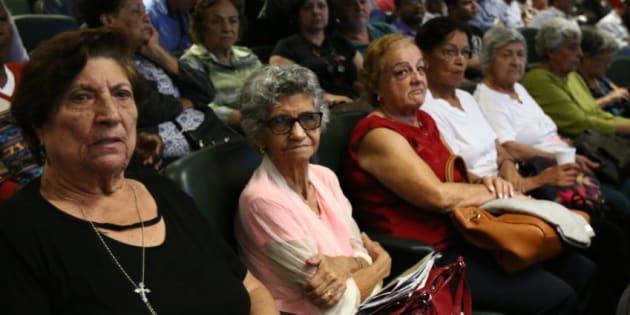 Audiência pública sobre reforma da Previdência na Assembleia Legislativa de São Paulo.