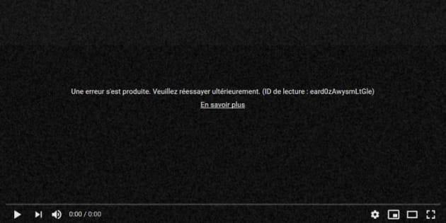 YouTube a été hors-ligne pendant 4 heures