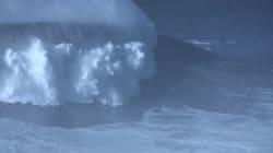 Les images impressionnantes de la plus grande vague jamais