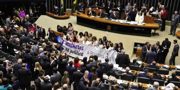 No ano passado, deputados rejeitaram cotas para mulheres.