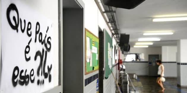 Escola Mendes de Moraes, na Ilha do Governador (RJ)