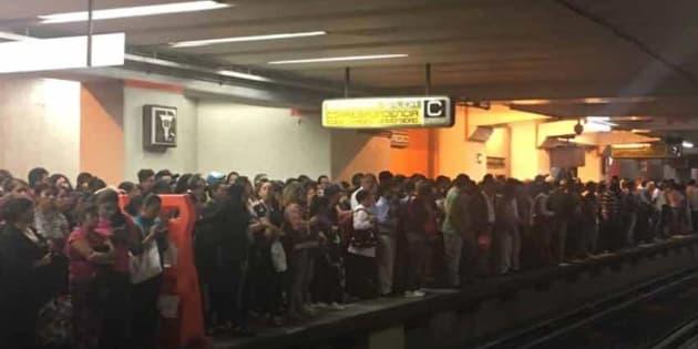 Otra falla en el Metro, ahora Línea 9