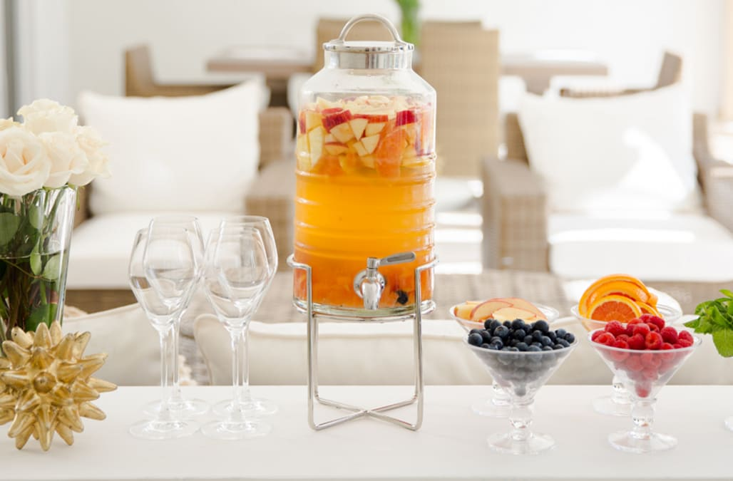 The perfect DIY sangria bar for any summer party