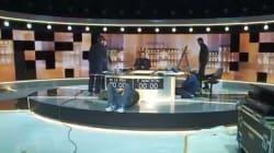 Les premières images du plateau du débat de l'entre-deux