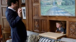 Justin Trudeau Took His Son To Work And It Was Bloody