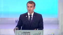 L'hommage de Macron à Aznavour en