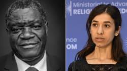 El Nobel de la Paz para dos defensores de las víctimas sexuales en la
