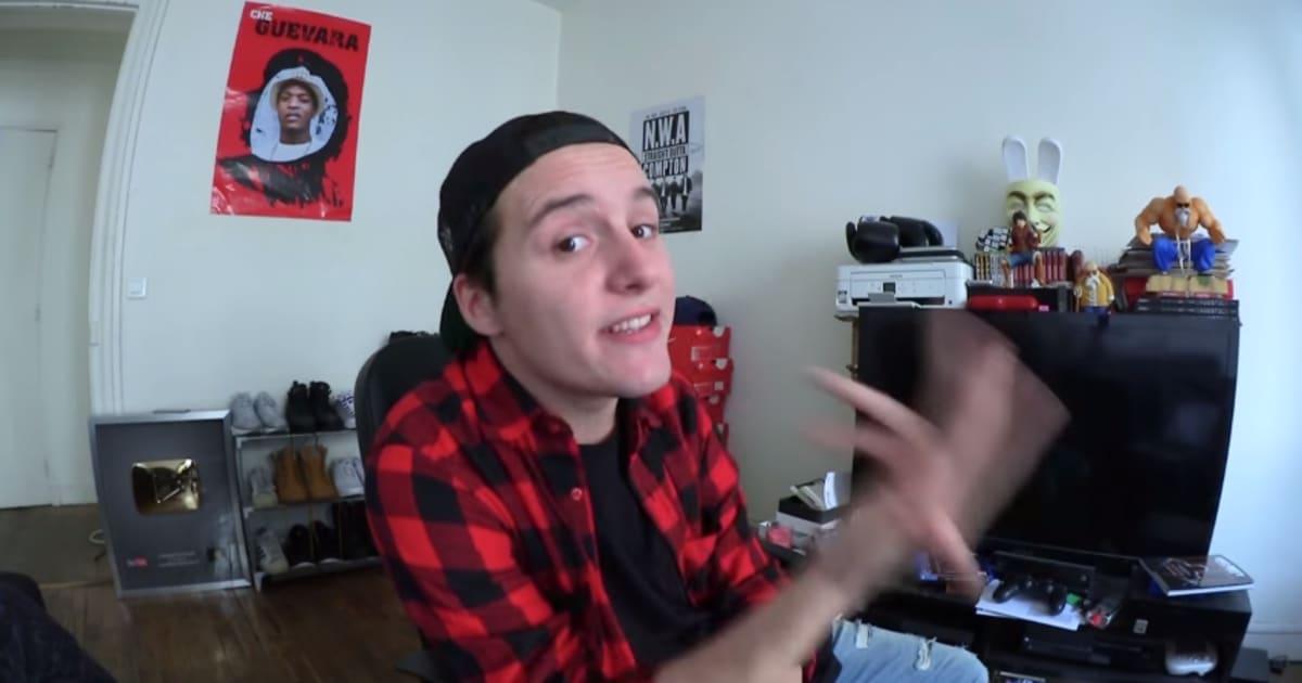 Malgr ses excuses les propos du youtubeur hugo tout seul for Bureau youtubeur
