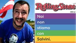"""""""Radical chic multimilionari accolgano i migranti nelle loro mega ville"""". Salvini contro Rolling"""