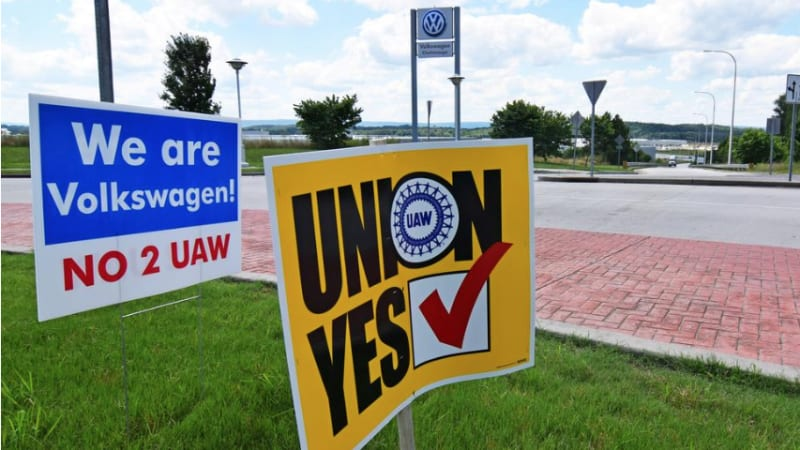 Vote to bring in the UAW fails at VW Chattanooga auto plant