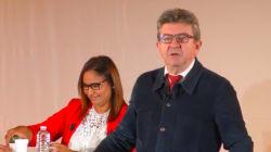 En meeting dans l'ex-fief de Valls, Mélenchon avertit