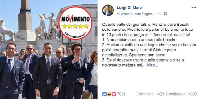 Carige, Giorgetti:
