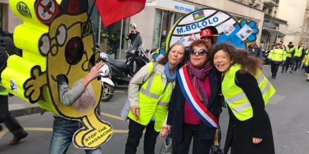 """""""Des femmes Gilets jaunes m'ont demandé explicitement de porter mon écharpe tricolore. Finalement, l'antiparlementarisme de certains cède dès que le parlementaire est là."""""""
