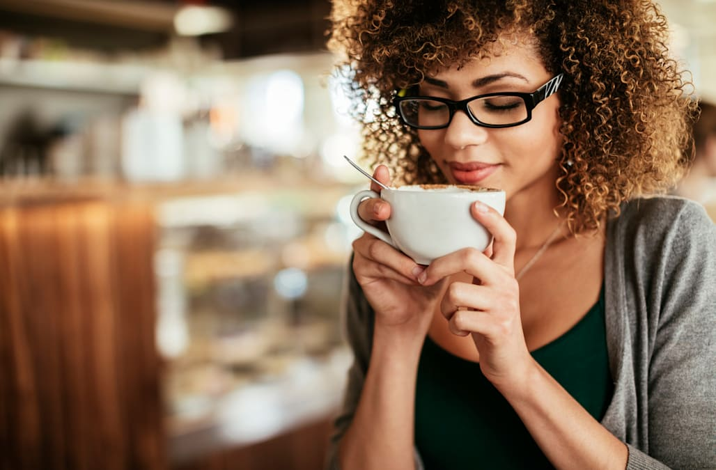 картинки пьющих кофе это было