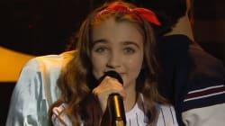 À l'Eurovision Junior, la Française Angélina termine