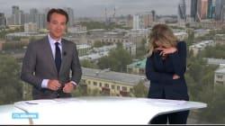 Le fou rire de ces deux présentateurs néerlandais est