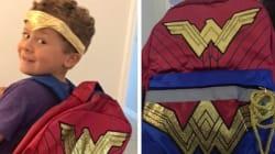 Gal Gadot est admirative de ce petit garçon qui voulait porter un sac à dos Wonder Woman à