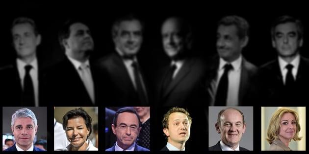 Les candidats à la présidence des Républicains