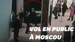 Il vole un tableau dans un musée de Moscou sous l'œil des autres