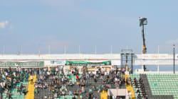 Ce supporter turc s'est créé le meilleur emplacement pour voir son match de foot