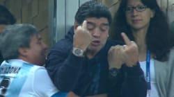 Maradona a totalement craqué après le but miraculeux de