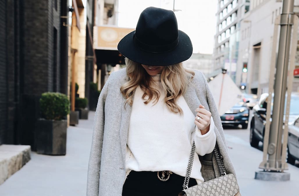 d65b2213d08 Street style tip of the day  Chic black jeans - AOL Lifestyle