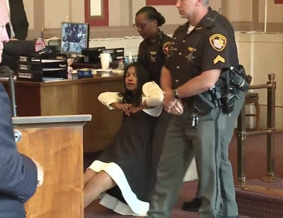 Shocking video shows judge dragged from courtroom