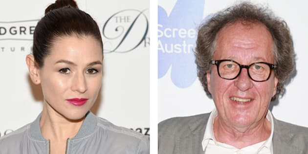 "Yael Stone qui joue notamment dans la série ""Orange Is the New Black"" accuse l'acteur Geoffrey Rush de comportements déplacés."