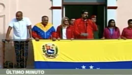 Maduro da 72 horas al personal diplomático estadounidense para abandonar