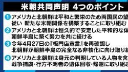 「具体性なく中身ない」「日本の安全保障にも影響」トランプ大統領が自画自賛する米朝首脳会談に、研究者からも厳しい意見