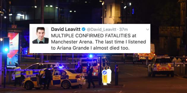 Le concert d'Ariana Grande se termine dans l'horreur — Explosion à Manchester