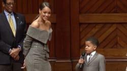 Rihanna a craqué pour ce petit