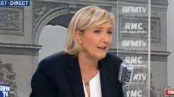 Comment Marine Le Pen valide à demi-mots la campagne