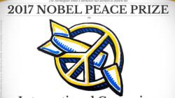 Il Nobel per la Pace va a ICAN, l'organizzazione contro le armi