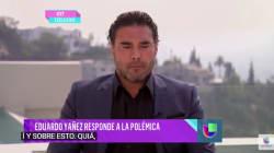 Eduardo Yáñez, con lágrimas, habla del cachetadón y ofrece