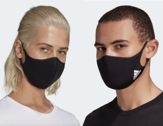 Adidas' fabric face masks are designed for comfort
