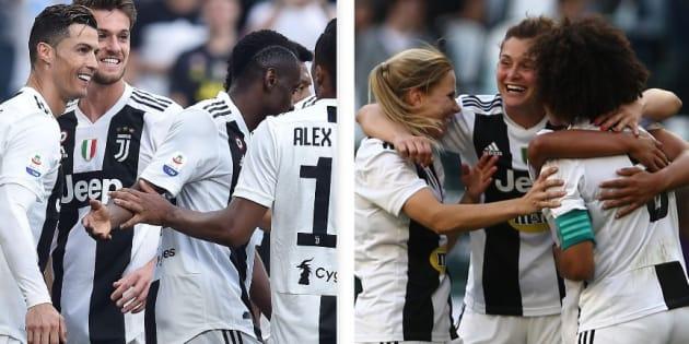 Uomini e donne, è trionfo Juventus: doppio scudetto