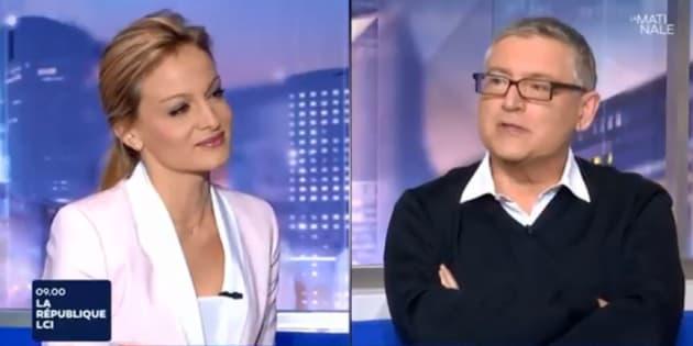 """Michel Onfray à Audrey Crespo-Mara à propos de son AVC: """"C'est vous qui m'avez sauvé ! Merci"""""""