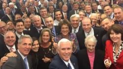 En redes se acaban al Partido Republicano por 'la selfie más blanca de la