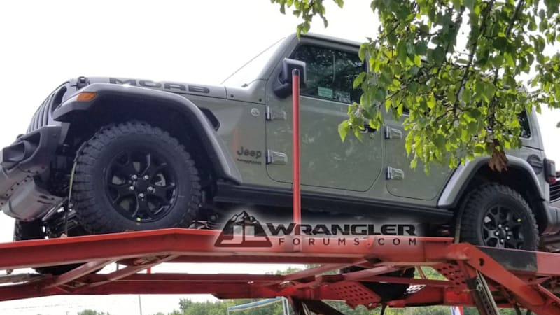 2019 Jeep Wrangler Moab spied near FCA headquarters?