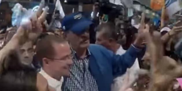 El guanajuatense tuvo diferencias con el PAN, ahora decide apoyar al candidato del partido que lo llevó a Los Pinos.