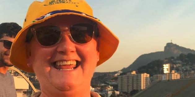 Tricia Davis, the mum of Aussie archer Taylor Worth is ecstatic.