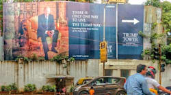 This Photo Of A Trump Billboard In Mumbai Is Real, And So Is The Dark