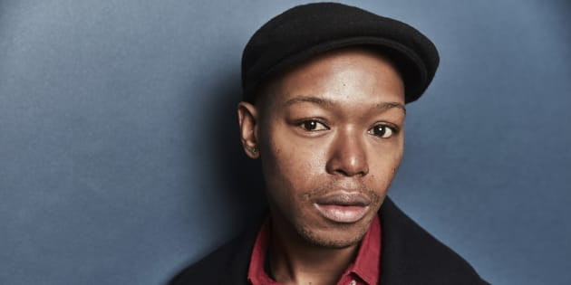 Nakhane poses for a portrait at the 2017 Sundance Film Festival.