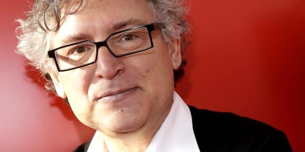 Michel Onfray à Paris le 26 mars 2017.