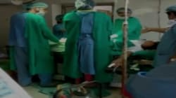 Caught On Camera: Doctors Fight During Emergency C-Section In