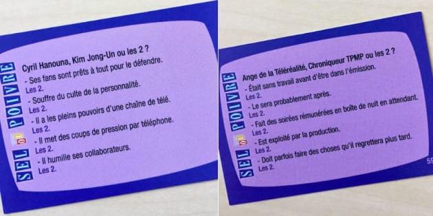 Cyril Hanouna ne va pas apprécier ces questions dans le jeu de société Burger Quiz d'Alain Chabat