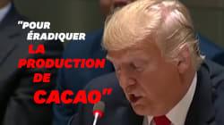 Trump a encore confondu ces deux substances addictives... mais bien